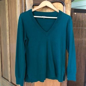 J. Crew Mercantile Forest Green Sweater